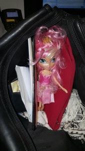 pink hair doll